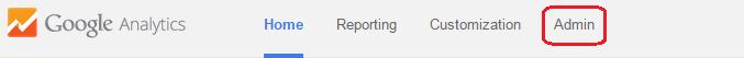 Google analytics adding account