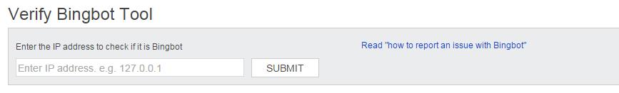 verify as bingbot