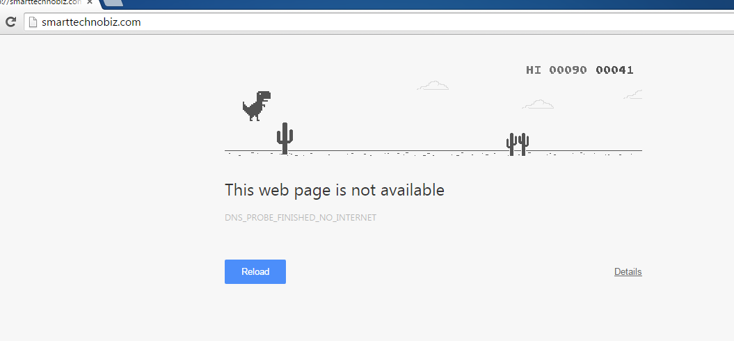 Did you know that there is hidden game in Google Chrome
